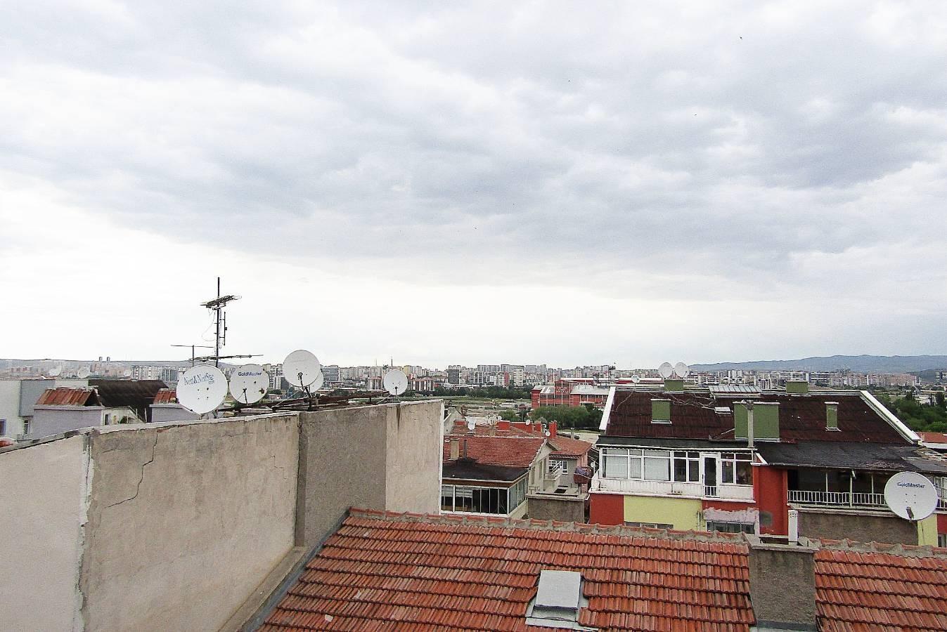 SR EMLAK'TAN K.KARABEKİR MAH'DE  5+1 250m² MANZARALI ÖN CEPHE TERAS