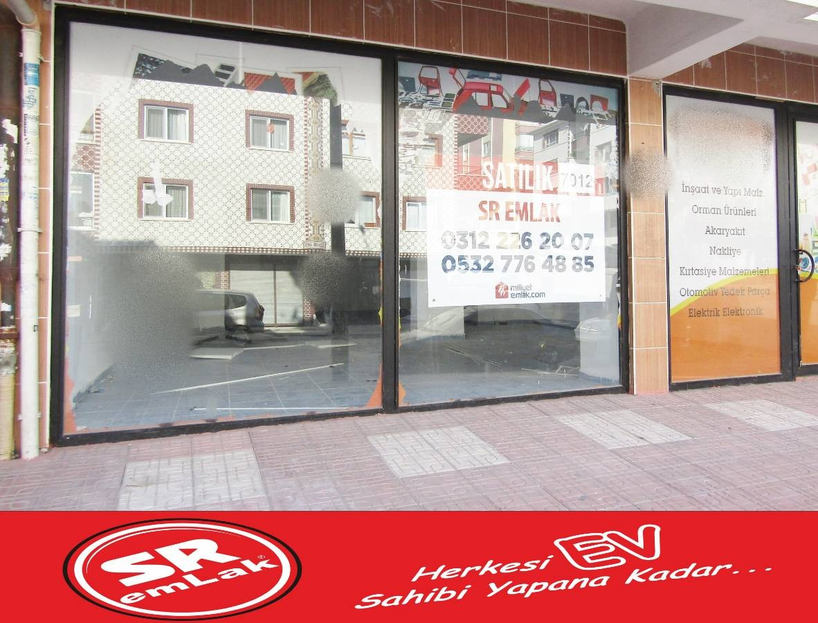 SR EMLAK'TAN PİYADE MAH'DE 75 m² ULAŞIMA YAKIN DÜKKAN