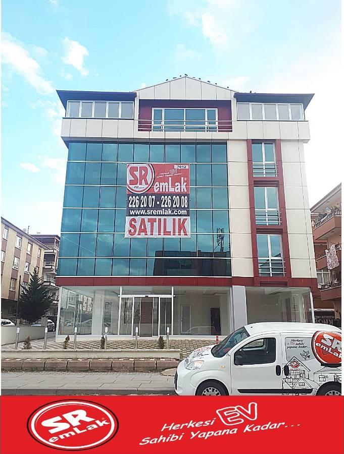 SR EMLAK'TAN ETİMESGUT  SÜVARİ MAH'DE CADDE ÜZERİNDE SATILIK PLAZA