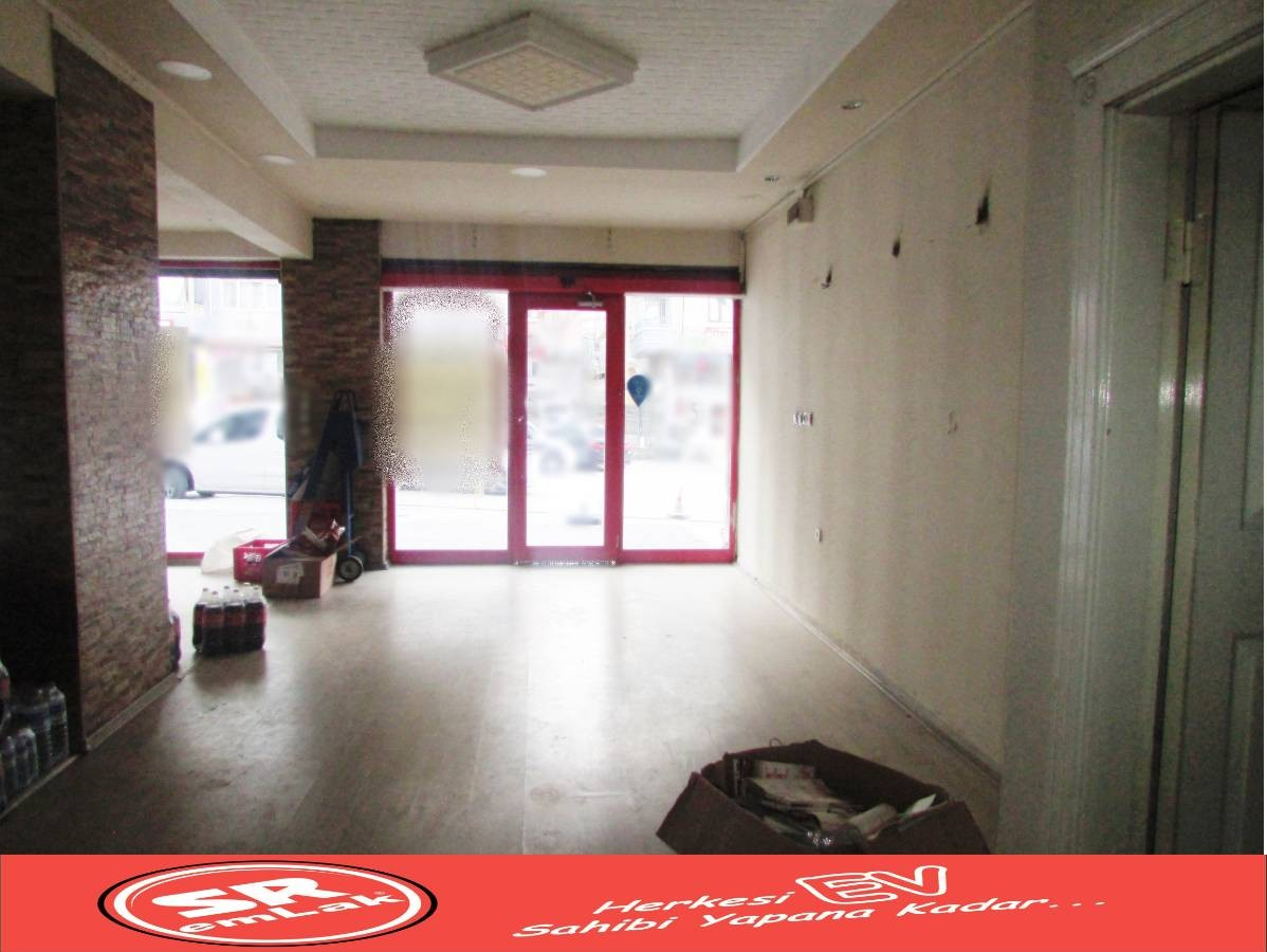 SR EMLAK'TAN ANDİÇEN MAH'DE 125 m² CADDE ÜZERİ KİRALIK DÜKKAN